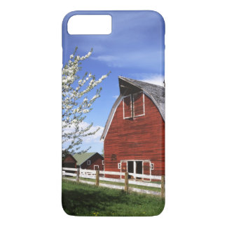 USA, Washington, Ellensburg, Scheune iPhone 8 Plus/7 Plus Hülle