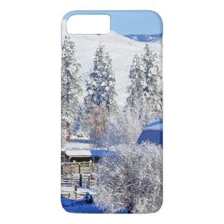 USA, Washington, Methow Tal, Scheunen herein iPhone 8 Plus/7 Plus Hülle