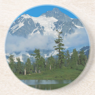 USA, Washington, Nordkaskaden-Nationalpark 10 Sandstein Untersetzer