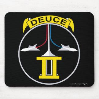 """USAFA Kadett Squadon 2"""" Deltatau-Zwei"""" Mousepad"""