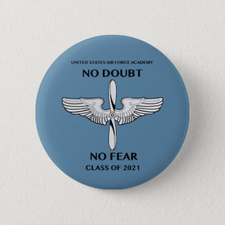 USAFA Klasse des 2021 Klassen-Slogan-Knopfes Runder Button 5,7 Cm