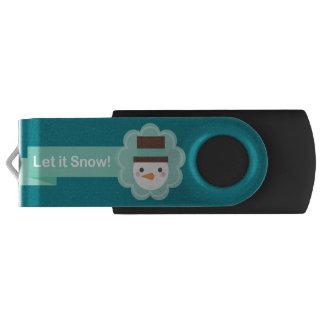 USB Christmas Swivel USB Stick 2.0