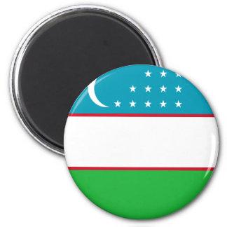 Usbekistan Runder Magnet 5,7 Cm