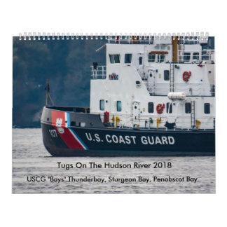 """USCG """"bellt"""" auf dem Hudson 2018 Wandkalender"""