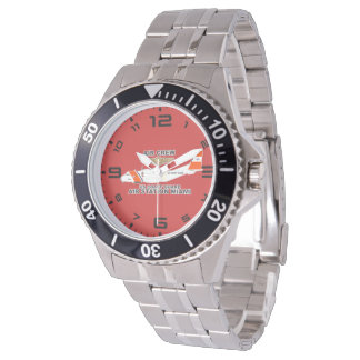 USCG Flughafen-Miami-Luft-Crew Uhr