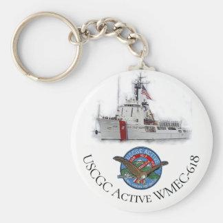USCGC aktives WMEC-618 Schlüsselanhänger