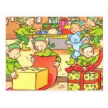 Usine de Noël Carte Postale