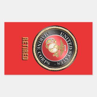 USMC pensionierter Aufkleber