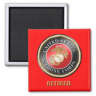 USMC pensionierter Magnet