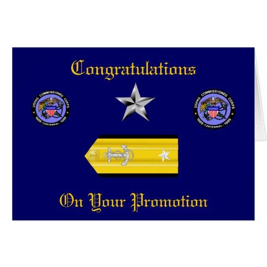 USPHS Kommissions-Korps-Konteradmiral-Karte Karte