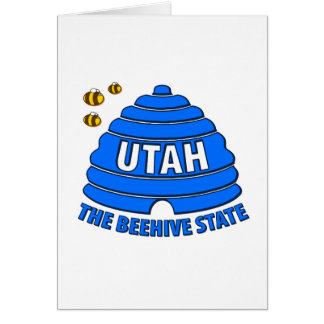 Utah: Der Bienenstock-Staat Karte