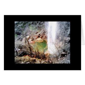 Utah - fallendes Wasser - Foto-Mitteilungskarten Karte