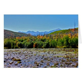 Utah-Herbstlaub Karte