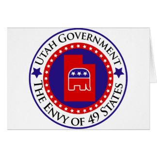 Utah-Regierung: Der Neid von 49 Staaten Karte