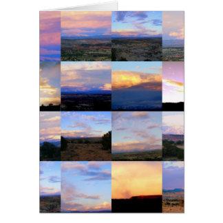 Utah - Sonnenaufgang-Sonnenuntergang - Karte