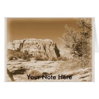 Utah Vintag Karte