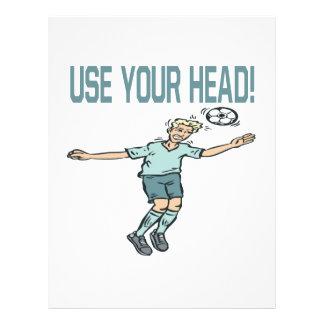 Utilisez votre tête prospectus