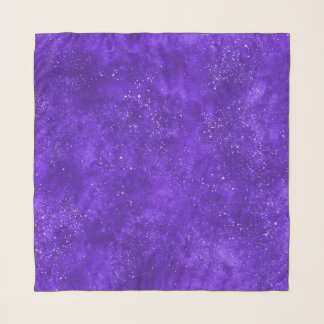 UVgalaxiequadratschal Schal