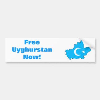 Uyghur Freiheits-Autoaufkleber Autoaufkleber