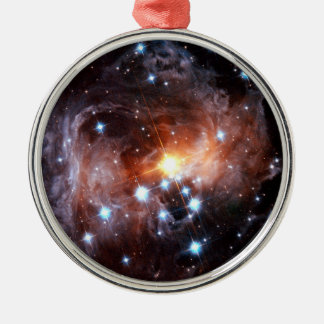 V838 Monocerotis rotes Supergiant Stern Hubble Silbernes Ornament