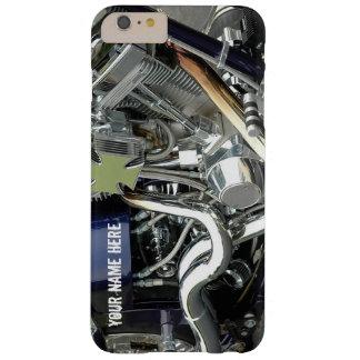 V-DoppelChopper-Chrom-Motor-Telefon-Kasten Barely There iPhone 6 Plus Hülle