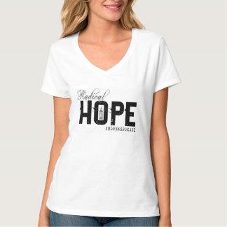 V-Hals T die HOFFNUNG der Frauen T-Shirt