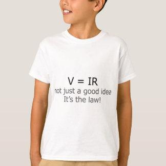 V = IR, nicht gerade eine gute Idee T-Shirt