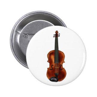 V ist für Violine Anstecknadelbuttons