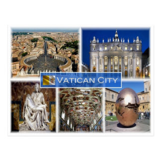VA-Vatikanstadt - Postkarte
