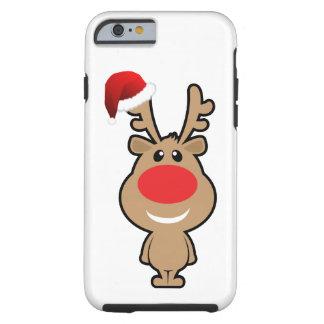 Vacances de Noël drôle père Noël Coque Tough iPhone 6
