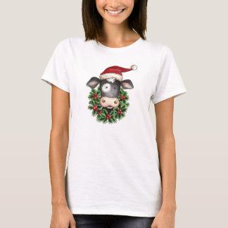 Vache à Noël - T-shirt