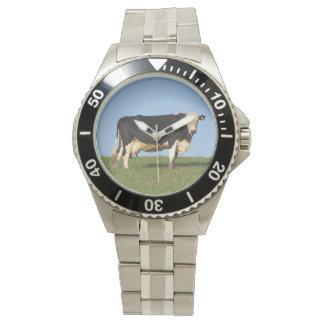 Vache du sud à Devon sur le regard supérieur de Montres Bracelet