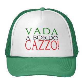 Vada ein bordo Cazzo Logohut Netzmützen