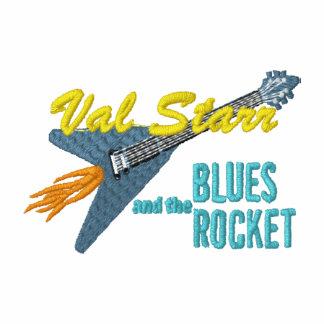 Val Starr u. das kleine Logo Blues-Rockets
