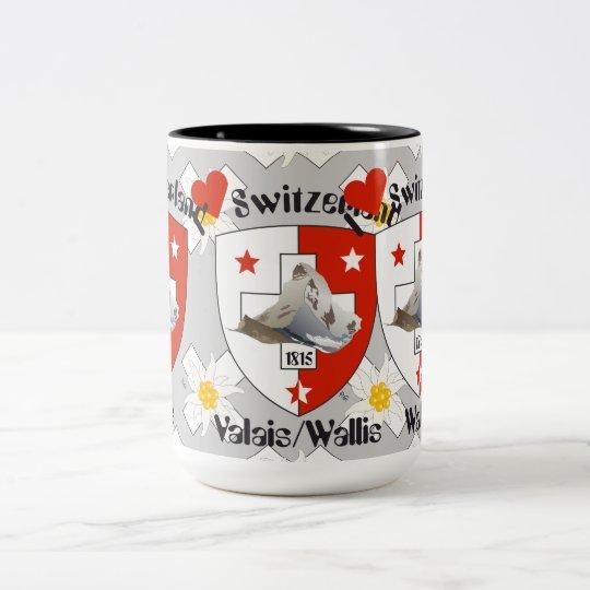 Valais / Wallis Suisse / Schweiz Tasse