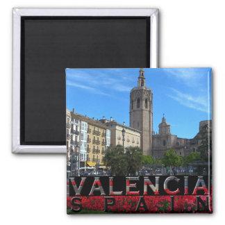 Valencia Quadratischer Magnet
