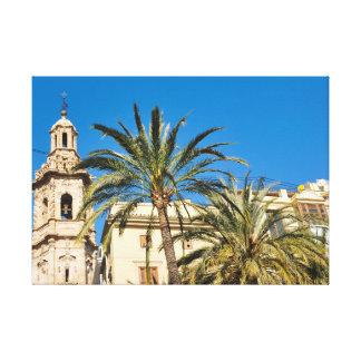 Valencia, Spanien Leinwanddruck