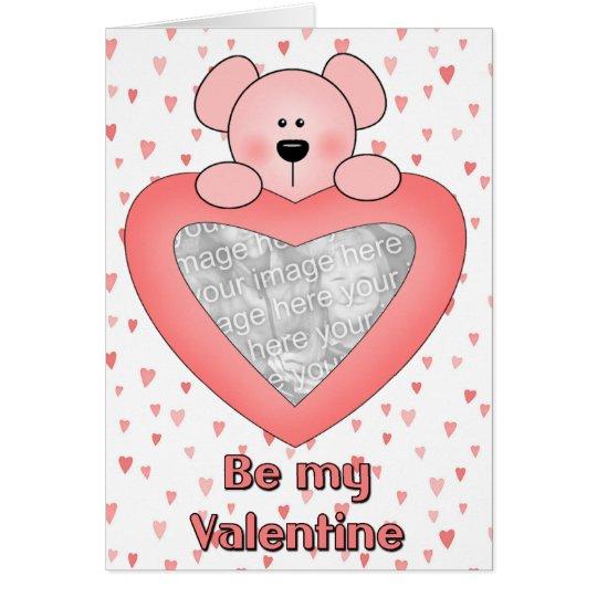 Valentine-Fotokarte Grußkarte