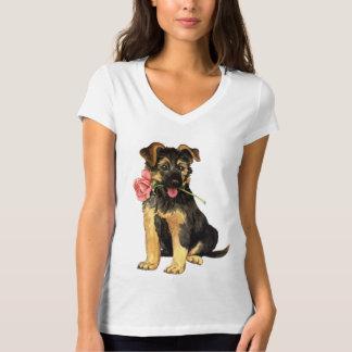 Valentine-Rose GSD T-Shirt