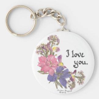 Valentinegeschenke der Liebe Schlüsselanhänger