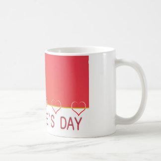 Valentines day heart design coffee mug kaffeetasse