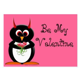 Valentines mauvais d école de pingouin - je vous a