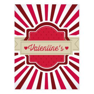 valentines postkarte