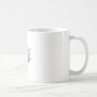 Valentinsgruß-Baum Kaffeetasse