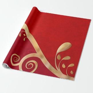 Valentinsgruß-Eleganz ALLE GRÖSSEN Geschenkpapier