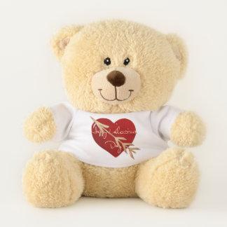 Valentinsgruß-Eleganz ALLE GRÖSSEN GIFTING Teddybär