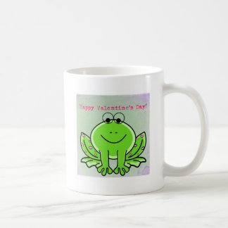 Valentinsgruß-Frosch Kaffeetasse
