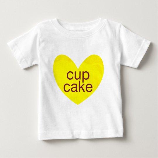Valentinsgruß-Gramm Baby T-shirt