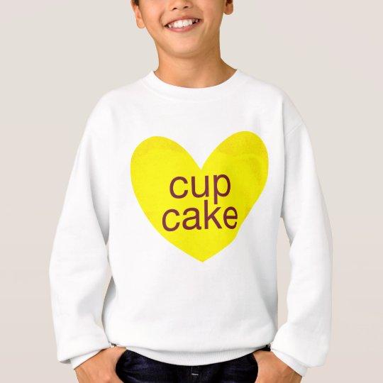 Valentinsgruß-Gramm Sweatshirt