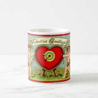 Valentinsgruß-Grüße Kaffeetasse